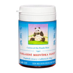 Pohlazení medvídka pandy- Biocentrum Opál