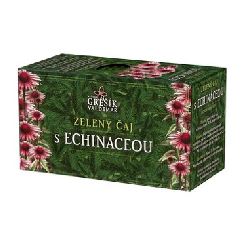 Zelený čaj s Echinaceou - Biocentrum Opál