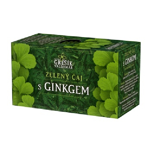 Zelený čaj s Ginkgem - Biocentrum Opál
