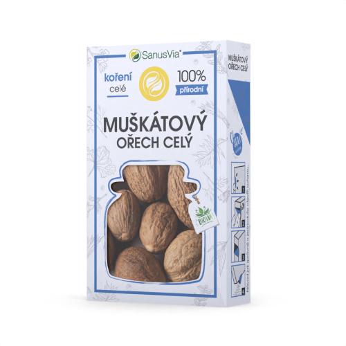 Muškátový ořech celý- Biocentrum Opál